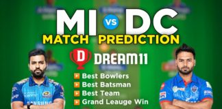 MI vs DC Dream11 Team Prediction 46th Match IPL 2021 (100% Winning Team)