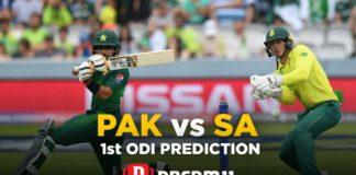 SA vs PAK Dream11 Team Prediction for Today's Match (100% Winning)