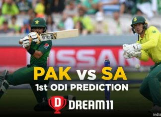 SA vs PAK Dream11 Team Prediction for Today's Match (100% Winning)