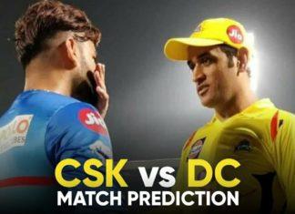 CSK vs DC Dream11 Team Prediction 2nd Match IPL 2021 (100% Winning Team)