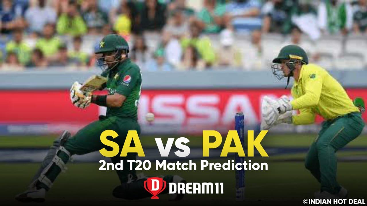 SA vs PAK Dream11 Team Prediction 2nd T20 Match (100% Winning Team)