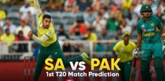 SA vs PAK Dream11 Team Prediction 1st T20 Match (100% Winning Team)