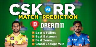 CSK vs RR Dream11 Team Prediction 12th Match IPL 2021 (100% Winning Team)