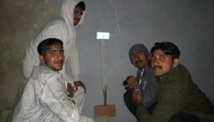 Shahnawaz Dahani with his family