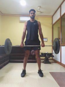 Vijay Shankar Physical Appearance