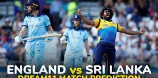 ENG vs SL Dream11 Team Prediction 3rd ODI Match 2021 (100% Winning Team)
