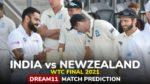 IND vs NZ Dream11 Team Prediction WTC Final 2021 (100% Winning Team)
