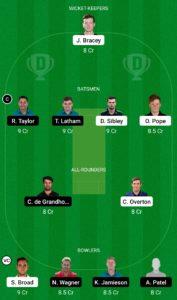 ENG vs NZDream11 Team for Grand League