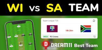 WI vs SA Dream11 Team Prediction 5th T20 Match 2021 (100% Winning)