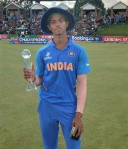 Yashasvi Jaiswal awards