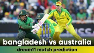BAN vs AUS Dream11 Team Prediction 3rd T20 Match 2021 (100% Winning Team)