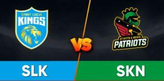 SLK vs SKN Dream11 Team Prediction Final Match CPL 2021 (100% Winning Team)
