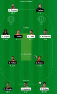 ZIM vs IRE Dream11 Team for Grand League
