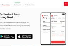 navi instant loan app